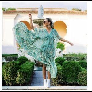 H&m Conscious  2019 Lyocell-blend Kaftan dress
